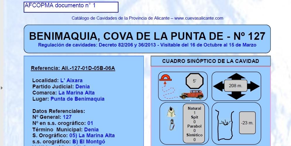 AFCOPMA_doc_1_cueva_de_benimaquia