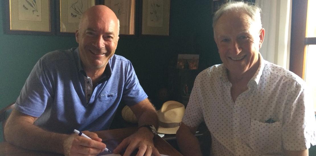 Firma Acuerdo entre AFCOPMA FUNDEM Tren Costa Marina Alta
