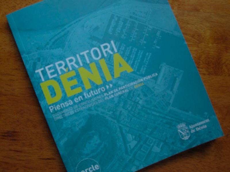 General plan of Dénia train of the coast denia la xara gorgo de gorgos